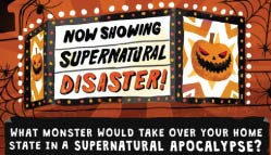 Supernatural Disaster Infographic