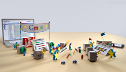 Gmail Stop Motion Animation Video