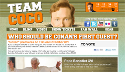 Conan O'Brien Leaderboard